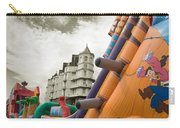 Childrens Play Areas Contrast With The Victorian Elegance Of The Grand Hotel In Llandudno Wales Uk Carry-all Pouch