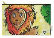 Childrens Whimsical Nursery Art Cutie Pie By Madart Carry-all Pouch