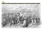 Chile: Wine Harvest, 1889 Carry-all Pouch