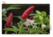 Chilli Flowers Carry-all Pouch