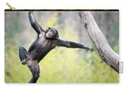 Chimp In Flight Carry-all Pouch