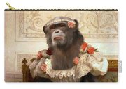 Chimp In Gown  Carry-all Pouch