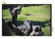 Chimp Sunbathing Carry-all Pouch