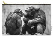 Chimpanzee Pair Carry-all Pouch