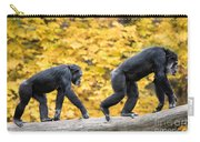 Chimpanzee Pair IIi Carry-all Pouch