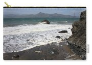 China Beach With Outgoing Wave Carry-all Pouch
