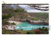China Cove At Point Lobos Carry-all Pouch by Charlene Mitchell