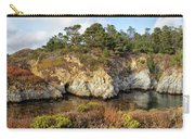 China Cove, Point Lobos Carry-all Pouch by Yair Karelic