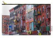 China Town Buildings Carry-all Pouch