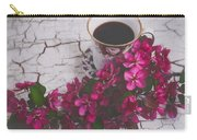Chinaberry Blossoms And Coffee Cup Carry-all Pouch