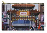 Chinatown - Philadelphia Carry-all Pouch by Bill Cannon