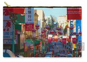 Chinatown Street Scene Carry-all Pouch