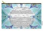 Chinease Ketubah- Reformed And Interfaithversion Carry-all Pouch