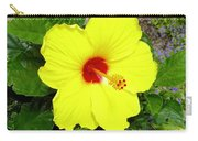 Chinese Hibiscus Carry-all Pouch