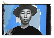 Chinese Immigrant Tucson Arizona Circa 1910 Color Added 2016 Carry-all Pouch
