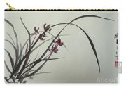 Chinese Orchid Carry-all Pouch