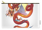 Chinese Red Dragon Carry-all Pouch