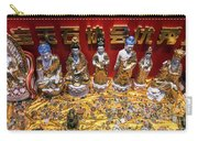 Chinese Religious Trinkets And Statues On Display In Xiamen Chin Carry-all Pouch