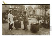 Chinese Vegtable Pedler In San Francisco Circa 1880 Carry-all Pouch