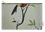 Chinoiserie - Magnolias And Birds #1 Carry-all Pouch
