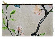 Chinoiserie - Magnolias And Birds #5 Carry-all Pouch