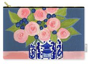 Chinoiserie Vase 2 Carry-all Pouch