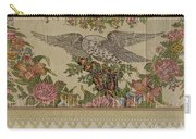 Chintz Valance For Poster Bed Carry-all Pouch
