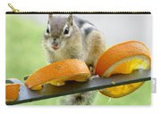 Chipmunk And Oranges 2 Carry-all Pouch