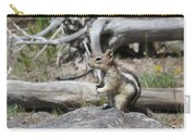 Chipmunk At Yellowstone Carry-all Pouch
