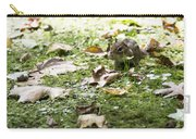 Chipmunk Getting Ready For Winter Carry-all Pouch