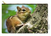 Chipmunk On A Limb Carry-all Pouch
