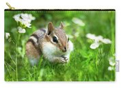 Chipmunk Saving Seeds Carry-all Pouch