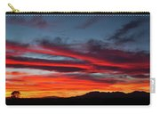 Chiricahua Mountain Sunset Carry-all Pouch