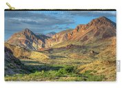 Chisos Mountains Of West Texas Carry-all Pouch