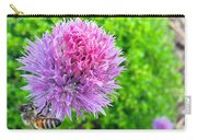 Chive And Bee Carry-all Pouch
