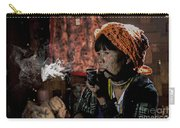 Cho Chin Woman Smoking  Carry-all Pouch
