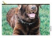 Choco Labrador Carry-all Pouch