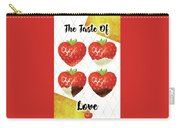 Chocolate - 7  Strawberry Carry-all Pouch