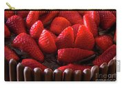 Chocolate And Strawberry Cake Carry-all Pouch
