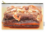 Chocolate Brownie With Nuts Dessert Carry-all Pouch