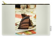 Chocolate Mousse Cake Carry-all Pouch