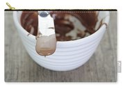Chocolate Sauce In Bowl Carry-all Pouch