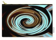 Chocolate Swirls Carry-all Pouch