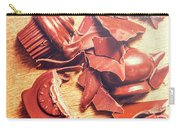 Chocolate Tableware Destruction Carry-all Pouch