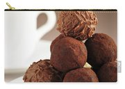 Chocolate Truffles And Coffee Carry-all Pouch by Elena Elisseeva