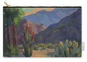 Cholla At Smoketree Ranch Carry-all Pouch