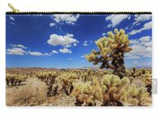 Cholla Cactus Garden In Joshua Tree National Park Carry-all Pouch