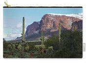 Cholla  Saguaro Superstition Mountain Carry-all Pouch