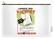 Choose For Victory -- Ww2 Carry-all Pouch