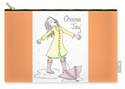 Choose Joy Woman Carry-all Pouch